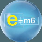e=m6 logo